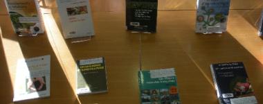 Exposition de livres sur l'agriculture