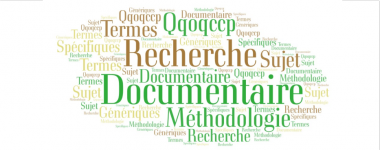 Nuage de mots : recherche documentaire