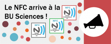 Le NFC arrive à la BU Sciences