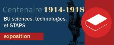 Exposition centenaire de l'armistice 1918 BU STS