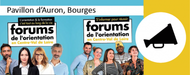 le forum de l'orientation de Bourges