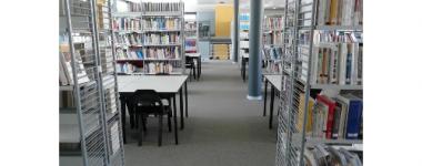 photo intérieure de la bibliothèque
