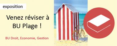 Venez réviser à BU plage !