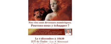 """""""Nos vies sont devenues numériques"""" Conférence du 04 décembre"""