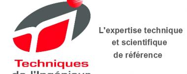 Logo rouge, blanc et gris de la base de données, avec le texte 'l'expertise technique et scientifique de référence'