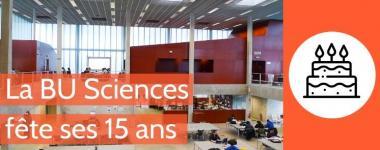 Exposition 15 ans de la BU Sciences Orléans
