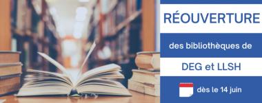 Les bibliothèques de Droit et de Lettres réouvrent leurs portes à partir du 14 juin