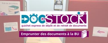 Venir récupérer vos documents réservés à la BU d'Orléans