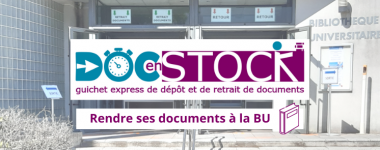 Comment rendre ses documents sur place à la BU ?