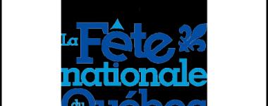 Affiche fête nationale Québec