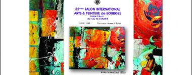 Affiche de l'exposition très colorée
