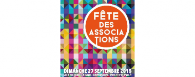 Visuel officiel de la fête des associations 2015