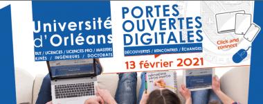 La BU à la journée portes ouvertes digitales 2021