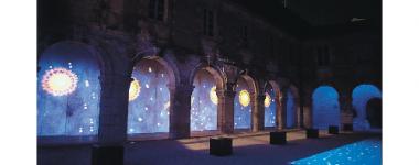 Couvent des Augustins pendant les Nuits lumière