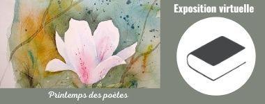 Découvrez le printemps des poètes à la Bu Lettres !