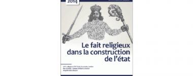"""Affiche du colloque """"Le fait religieux dans la construction de l'état""""."""