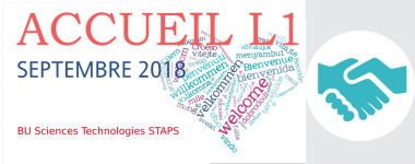Accueil L1 septembre 2018 à la BU Sciences Technologies STAPS