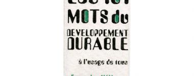Vignette d'un ouvrage sur le développement durable