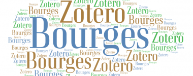 Illustration Atelier Zotero Bourges